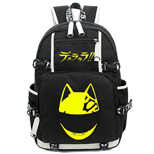 YOYOSHome Durarara!! Anime Cosplay Bookbag Messenger Bag Backpack School Bag