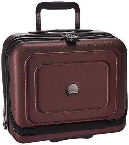 Delsey Luggage Red, Black Cherry