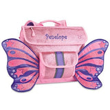 "Personalized Bixbee ""Sparkalicious"" Butterflyer Backpack - Pink"