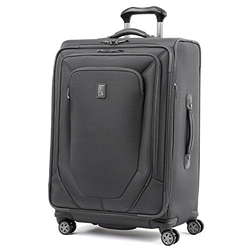 Travelpro Crew 10 25-Inch Expandable Spinner Suiter (Charcoal)
