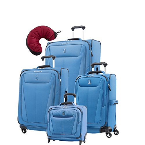 "Travelpro Maxlite 5 | 5-Pc Set | Rolling Tote, 21"" Carry-On, 25"" & 29"" Exp. Spinners With Travel"