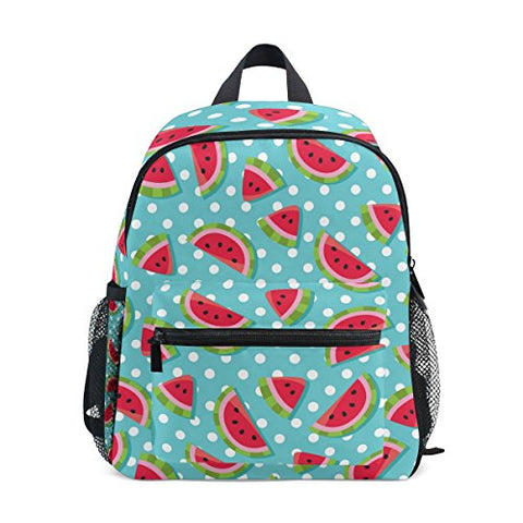 GIOVANIOR Fruit Watermelon Travel School Backpack for Boys Girls Kids