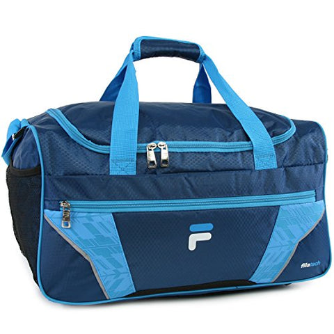 Fila Drone Sm Travel Gym Sport Duffel Bag, Navy/Blue