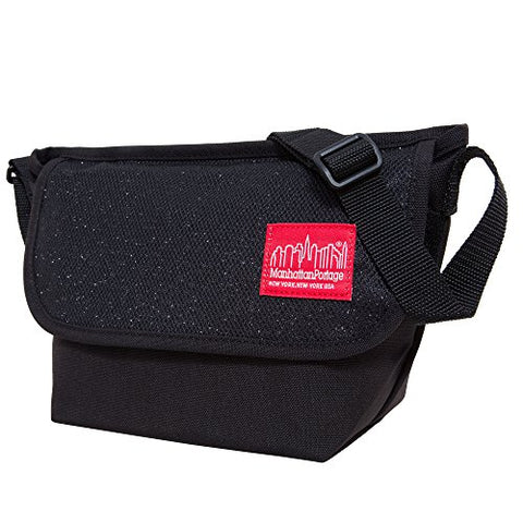 Manhattan Portage Messenger Bag Midnight, Black, One Size