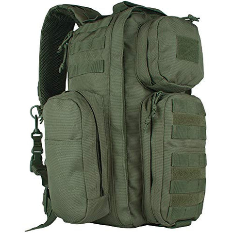 Fox Outdoor Products Advanced Tactical Sling Pack, Olive Drab