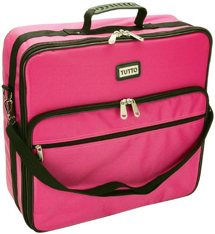 Tutto Embroidery Bag-19X17X6 Pink