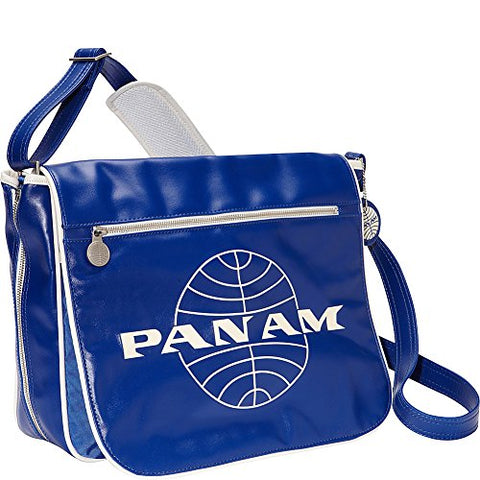 Pan Am Men'S Messenger Reloaded, Blue, Large