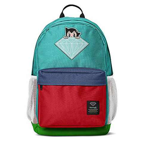Diamond Supply Co. x Astro Boy Brilliant Unisex Backpack Bag Multi-Color