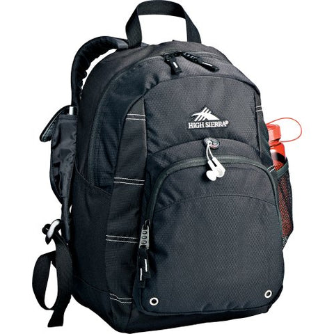 High Sierra® Impact Daypack Backpack - Black