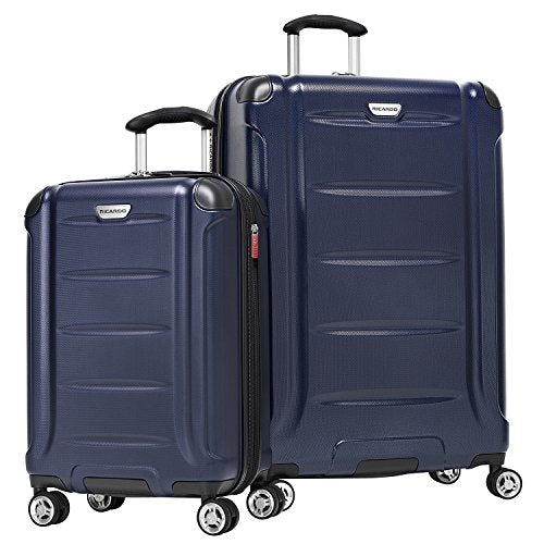 Ricardo Beverly Hills Sequoia 2-Piece Hardside Spinner Luggage Set, Navy