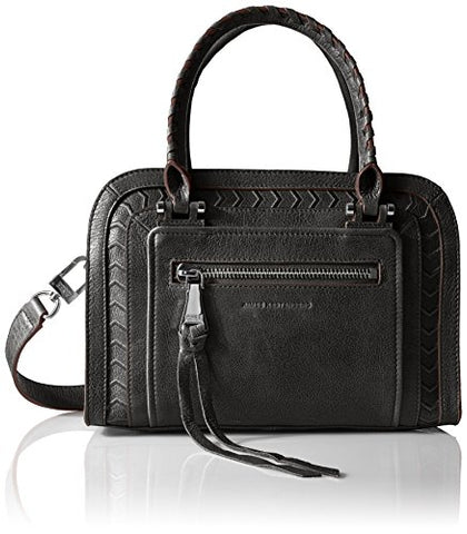 Aimee Kestenberg Romeo Triple Entry Satchel, Black
