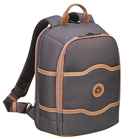Delsey Luggage Chatelet Soft Air Backpack Fashion, Chocolate One Size