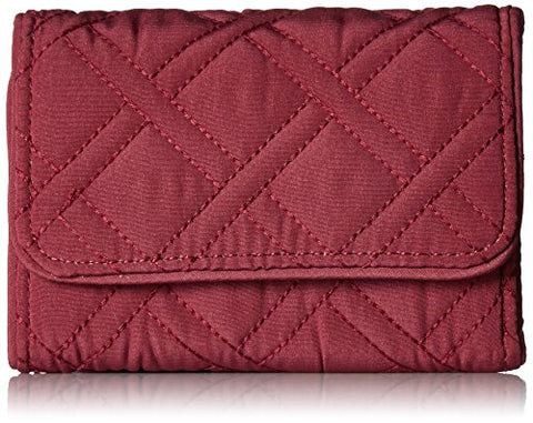 Rfid Riley Compact Wallet Wallet, Hawthorn Rose, One Size