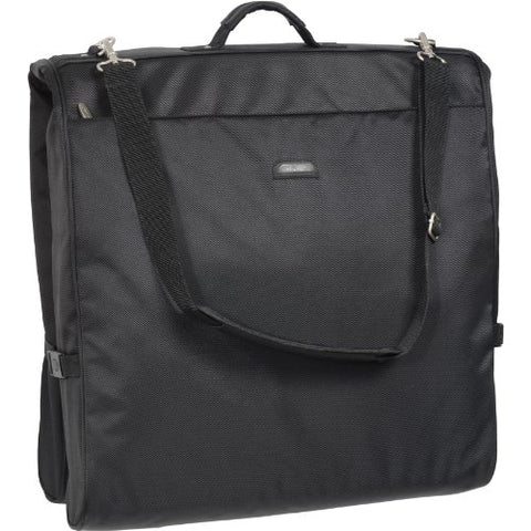 Wallybags 45-Inch Framed Garment Bag With Shoulder Strap And Multiple Accessory Pockets