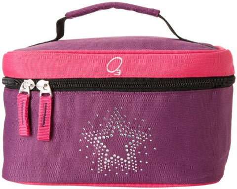 Obersee Kids Toiletry and Accessory Bag, Bling Rhinestone Star