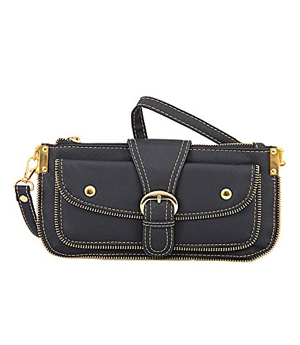 Mellow World Hipster Hb2806 Cross Body Bag, Black, One Size