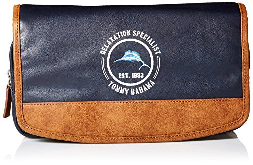 Tommy Bahama Men's Folding Travel Kit-navy, One Size