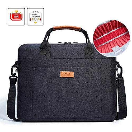 Laptop Bag, KALIDI 15.6 Inch Notebook Briefcase Messenger Bag for Dell Alienware / Macbook / Lenovo / HP , Travelling, Business, College and Office.