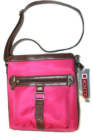 Rosetti Crossbody Purse Crimson/Brown