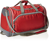 Amazonbasics Sports Duffel - Medium, Red