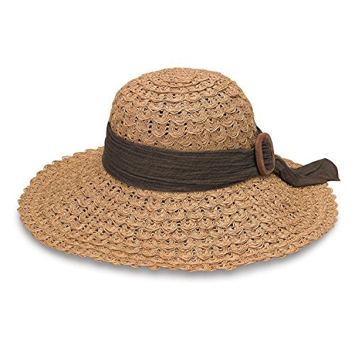 EMMA- Lacey Wide-Brimmed Hat by Wallaroo Hat Company