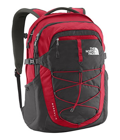 The North Face Borealis Backpack - TNF Red/Asphalt Grey
