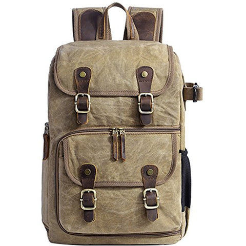 Travel Photography Backpack Waterproof Large Capacity Batik Backpack Outdoor Camera SLR Shoulder