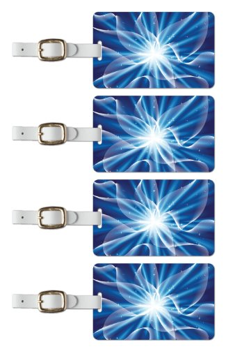 Tag Crazy Nexus Premium Luggage Tags Set Of Four, Blue, One Size