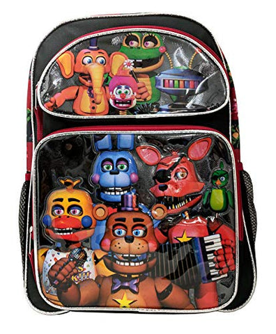 "Five Nights at Freddys 16"" Standard Size Large Backpack"