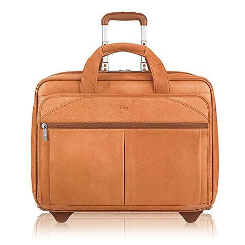 "Solo Classic Carrying Case (Roller) For 15.6"" Notebook - Tan"