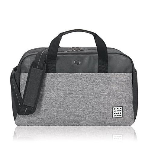 Solo Impulse 17.3 Inch Laptop Duffel, Black/Grey