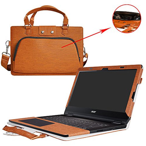 Inspiron 13 2-in-1 i5379 i5378 i5368 Case,2 in 1 Accurately Designed Protective PU Leather Cover