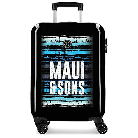 Maui & Sons Waves Hand Luggage, 55 cm, 33 Litres, Multi-Colour