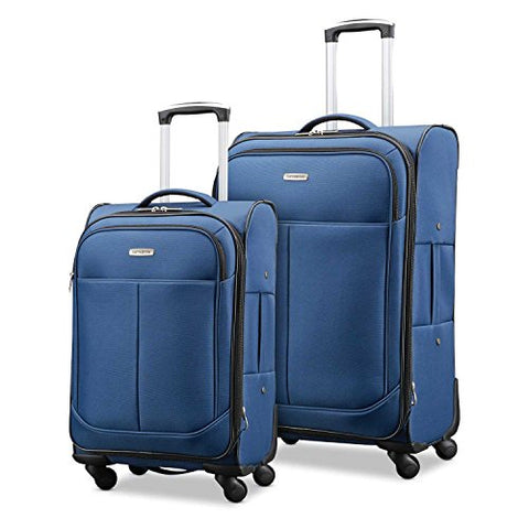 "Samsonite Advance Xlt Lightweight 2 Piece Softside Set (21""/29""), Navy, Exclusive to Amazon"