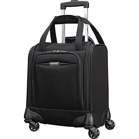 "American Tourister Meridian Nxt 16"" Carry-On Spinner Underseater (Black)"