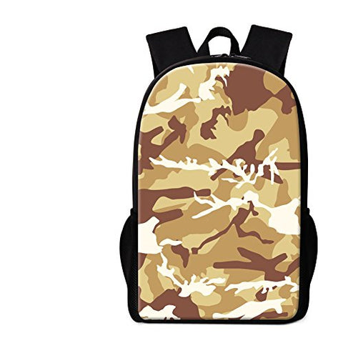 Crazytravel Man Woman Kids Camouflage Backpack Military Rucksacks For School Travel Hiking Camping
