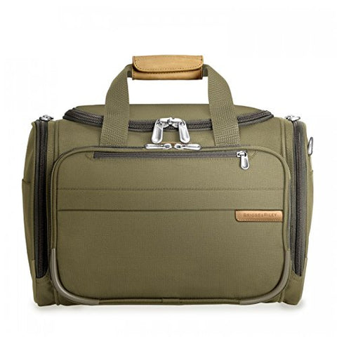 Briggs & Riley Baseline-Deluxe Travel Tote Bag, Olive, One Size