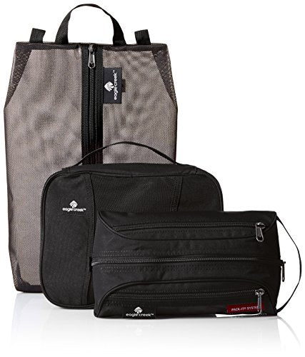 Eagle Creek Pack-It Original Stow N Go-3 Pc Set, Black
