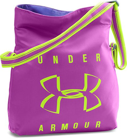 Under Armour Girls' Crossbody Tote, Strobe (577)/Fuel Green, One Size