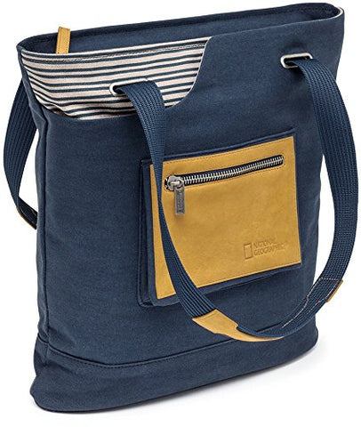 National Geographic Mc2550 Mediterrean Medium Tote - Blue Ng Mc2550
