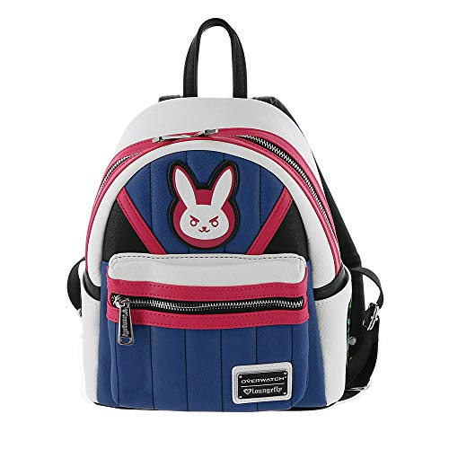 Loungefly Overwatch D.Va Faux Leather Mini Backpack Standard