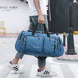 Multifunctional Travel Duffle Bags Sports Gym Luggage - Fashionable, Water-Resistant