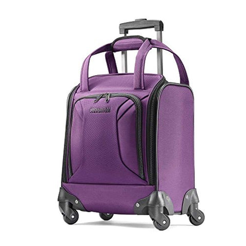 American Tourister Spinner Tote, Purple