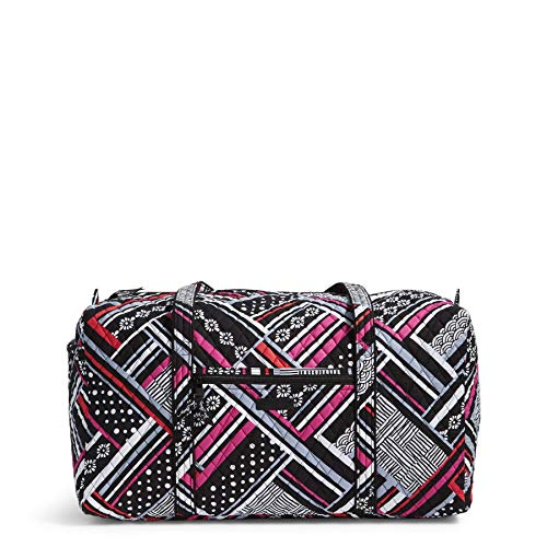Women's Large Duffel, Signature Cotton, Northern Stripes