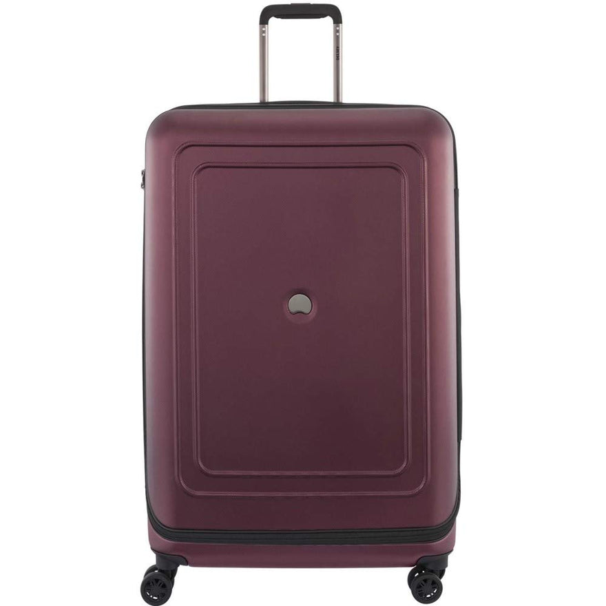 DELSEY Paris Luggage Cruise Lite Hardside 29 inch Expandable Spinner Suitcase with Lock, Black Cherry