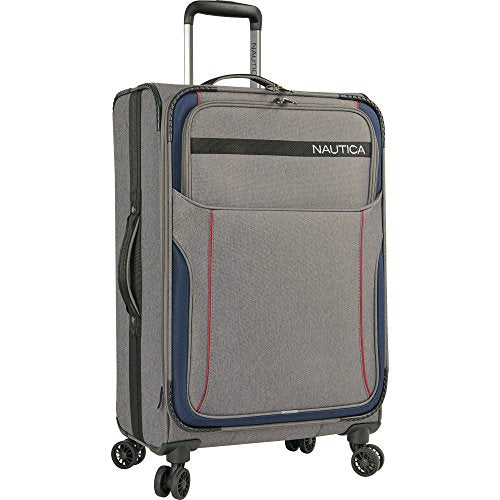 Nautica Naval Yard 19 Inch Carry On Expandable Spinner Suitcase