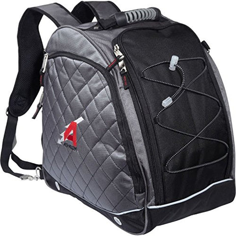 "Athalon ""Amped"" The Heated Boot Bag #431 (Silver w/ Black)"