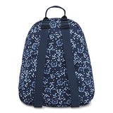 Jansport Half Pint Backpack (Navy Field Floral, One_Size)