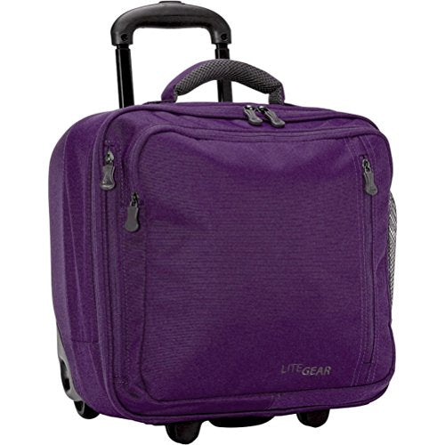 Lite Gear Hybrid Rolling Tote, Royal Purple