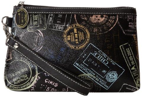 Sydney Love Bon Voyage Wristlet Cosmetic Case,Multi,One Size